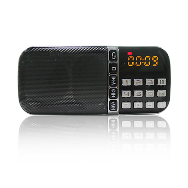wholesale portable MP3 player BT speaker USB disk mini AM FM radio supplier
