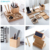 Factory Price Solid Wood Mobile Phone Stand Set,Desktop Stationery Storage Box
