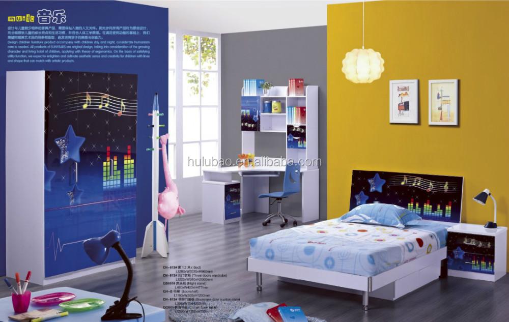 Comfortable Mdf Children Bedroom Furniture Set Hulubao Baohulu For Boys And  Girls Good Quality For Beautiful Life - Buy Furniture,Children ...