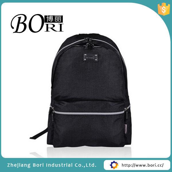 Fashion Black School Bags For Kids Modern School Backpack