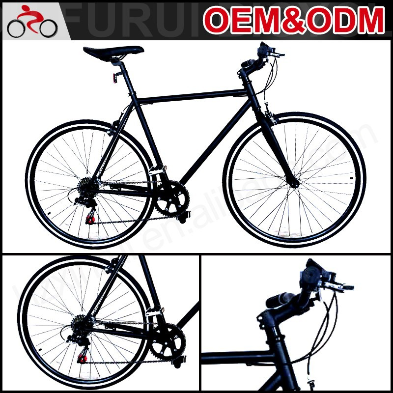 cheap OEM Aluminum Alloy 700Cfixed gear bike Road Bicycle carbon fixie china