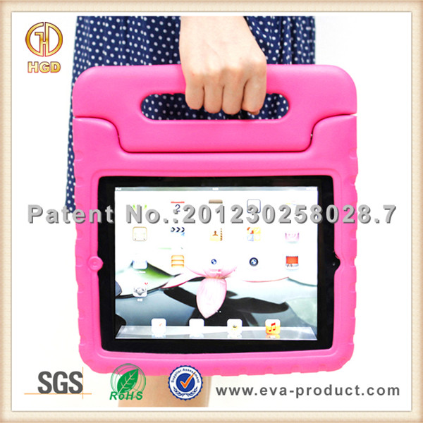 home school kids safe Shock Absorbing for Apple iPad 2 Case with Handle