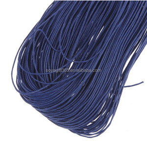 1mm Waxed Cotton Cord Beading Cord Waxed String for Jewelry Making