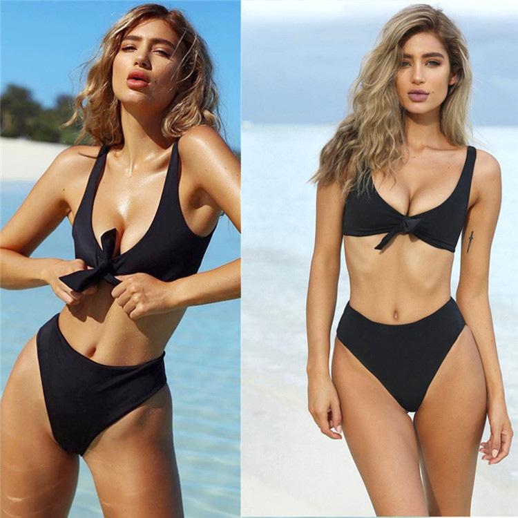 2019 Top Selling Beach Dress European Girls Swimwear Sexy Bikini