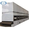 Ginger garlic dehydrator cassava chips drying machine spinach leaves belt hot air dryer
