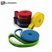 Super Durable Natural Latex Exercise pull up assist band