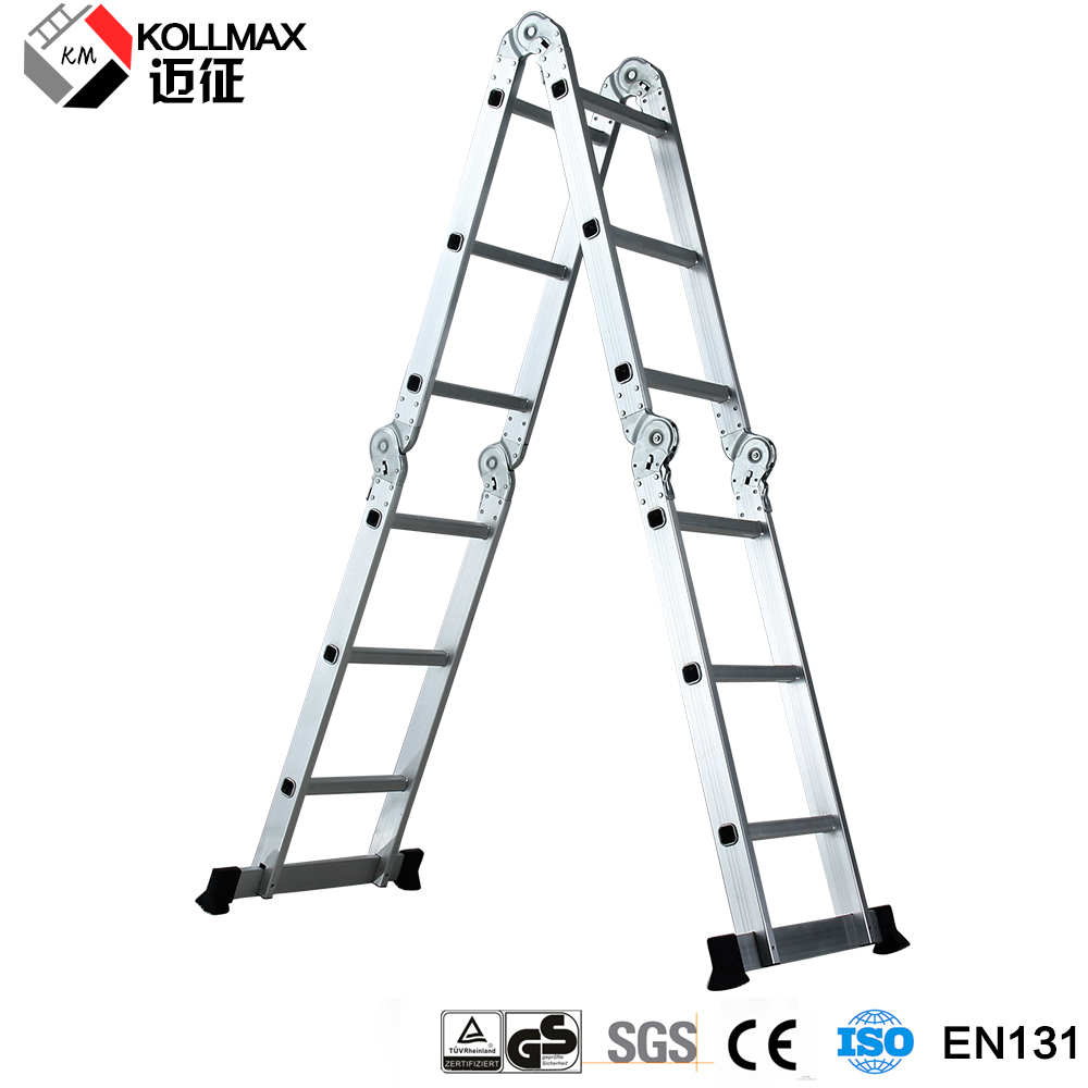 aluminium multi purpose ladder 4x3 4x4 4x5 4x6