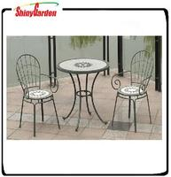 Folding Decorative Classical Bistro chair and table