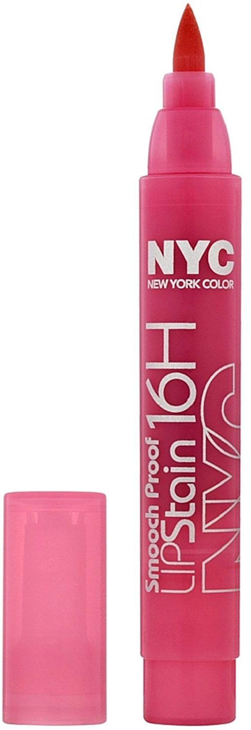 New York Color Smooch Proof Lip Stain, Persistent Pink 0.10 oz (Pack of 11)