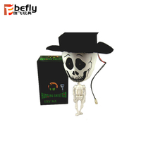 Shock halloween decorative skeletons and skulls