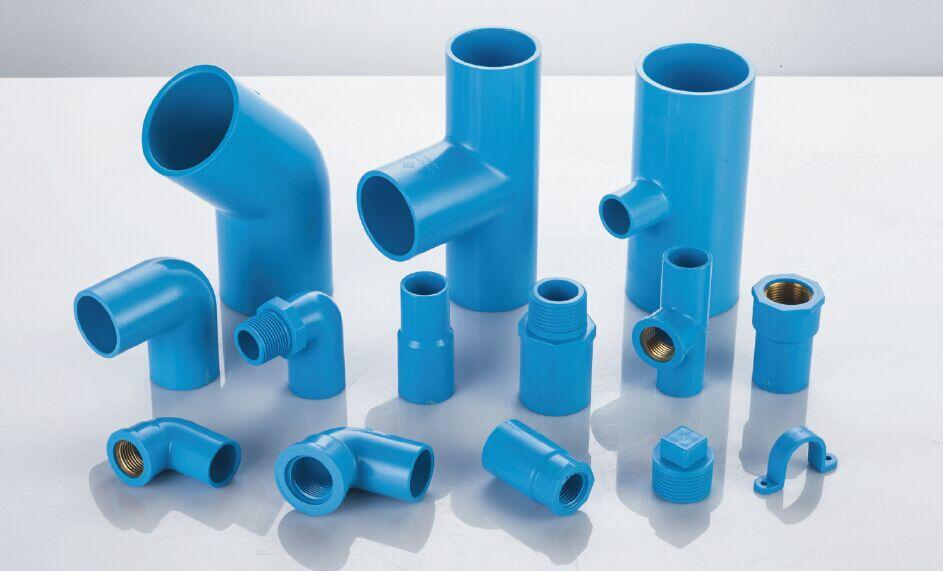 Tis pvc u water pipe socket tis pvc u water pipe fittings for Plastic plumbing pipes