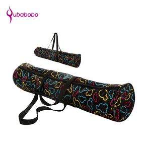 Fitness products 600d waterproof customized tote yoga mat bag