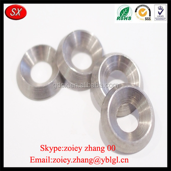 Chinese Customized Made Precision Stainless Steel Cone Shaped Washer ...