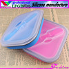 Custom food box/office container/small silicone container