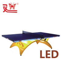 waterproof outdoor table tennis table/best price ping pong table