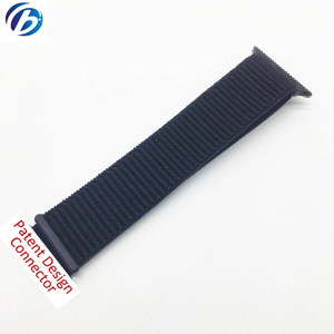 New Style Pure Nylon Magic Sticker Watch Band In stock