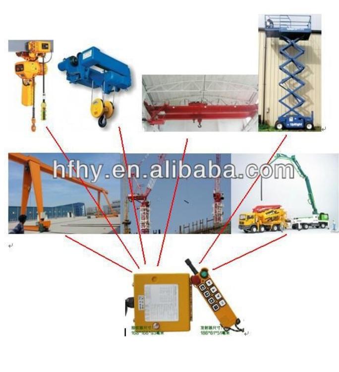 Overhead Crane Remote Safety : Best price bridge crane remote control wireless