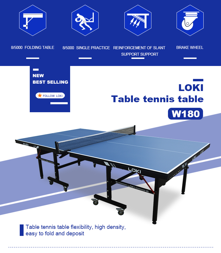 LOKI Good quality manufacturer ping pong table for sale