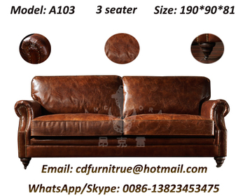 European Style Lazy Boy Modern Leather Sectional Sofa A103 Buy