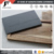 Square shape natural black slate dish plate rack with wooden tray