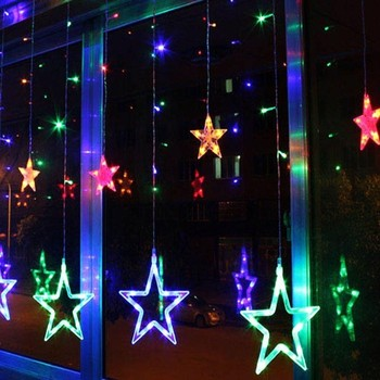 christmas light china supplier outdoor decorative rgb led star