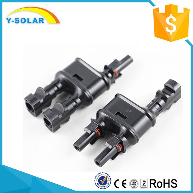Y-SOARL MC4T-A1 Waterproof MC4 Y Branch Connector for Solar Energy System