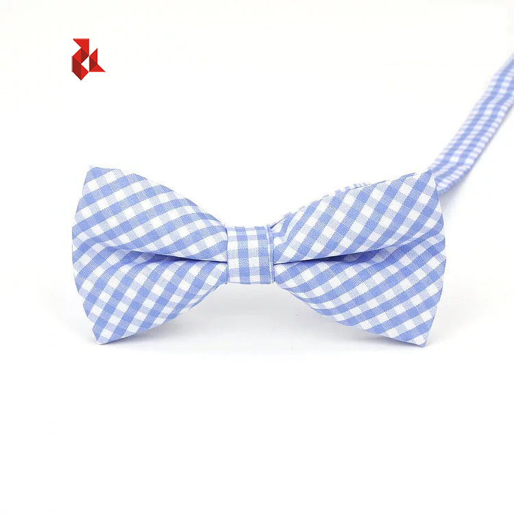 Boy's Handmade Pre-Tied Patterned Bow Ties For Kids