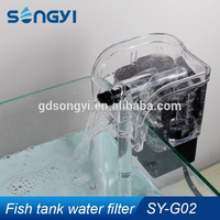 russian pet fish external hanging water filter