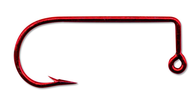 100-Pack Mustad 32756 Classic Aberdeen 90-Degree Bend Extra Strong Short Shank Jig Hook