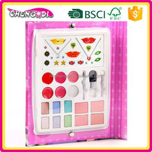 super style kids creative make up kit with sketch book and sticker