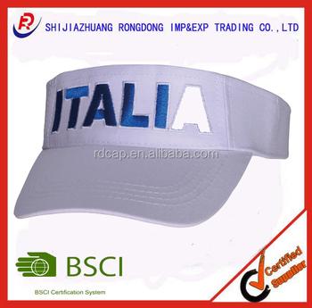 Custom promotional 3d embroidery sun visor buy high quality cap custom promotional 3d embroidery sun visor ccuart Images