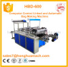 have excellent processing automatic t-shirt packaging bag making machine equipment made in china