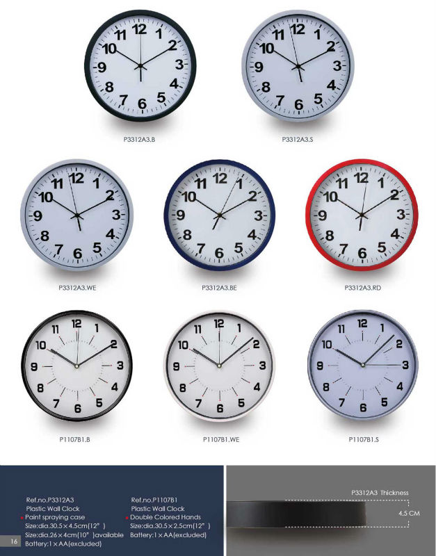 Custom Cheap Customized Wall Clock/different Types Of Clocks Cheap