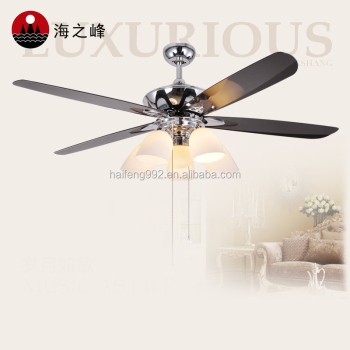 Ceiling Fan Chandelier Combo Lighting