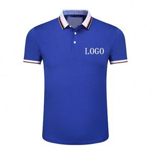 Reseller Europe Size Cultural And Sports Activities 20 Polyester 80 Cotton Polo T-Shirt Wholesale