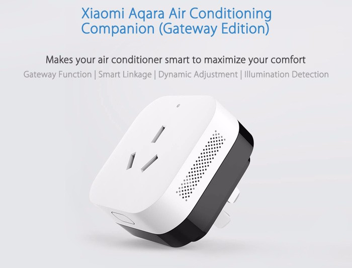 Aqara Zigbee Smart Home System Air Conditioning Companion Remote Control Plug and Socket