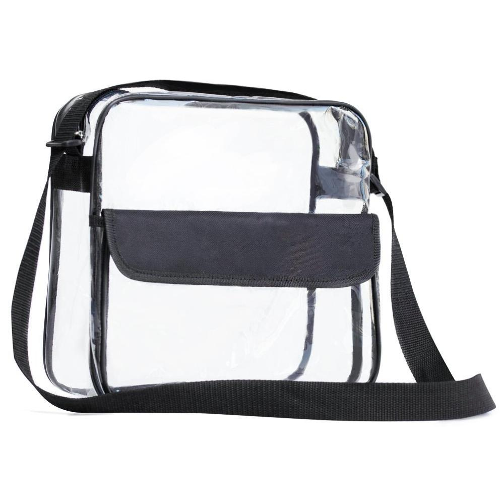 패션 young girls clear 투명 shoulder bag PVC cross-몸 messenger bag