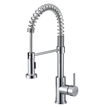 Brass Kitchen Mixer Tap Spring Pull Down Upc Kitchen Faucet With Single Lever Buy Kitchen Faucet Upc Kitchen Faucet Pull Down Kitchen Faucet Product