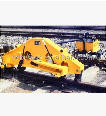Hydraulic steel bending machine for railway