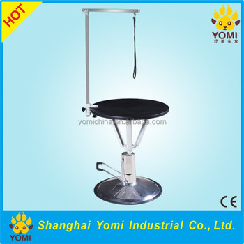 Ymyy001a China Most Popular Pet Litter Round Grooming Table