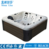 Installation Type and Left Drain Location massage bathtub M-3396