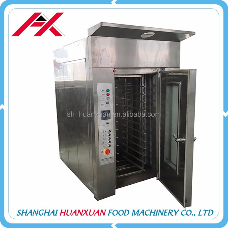 Hot Sale Factory Supply Rotary Rack Oven For Bakery