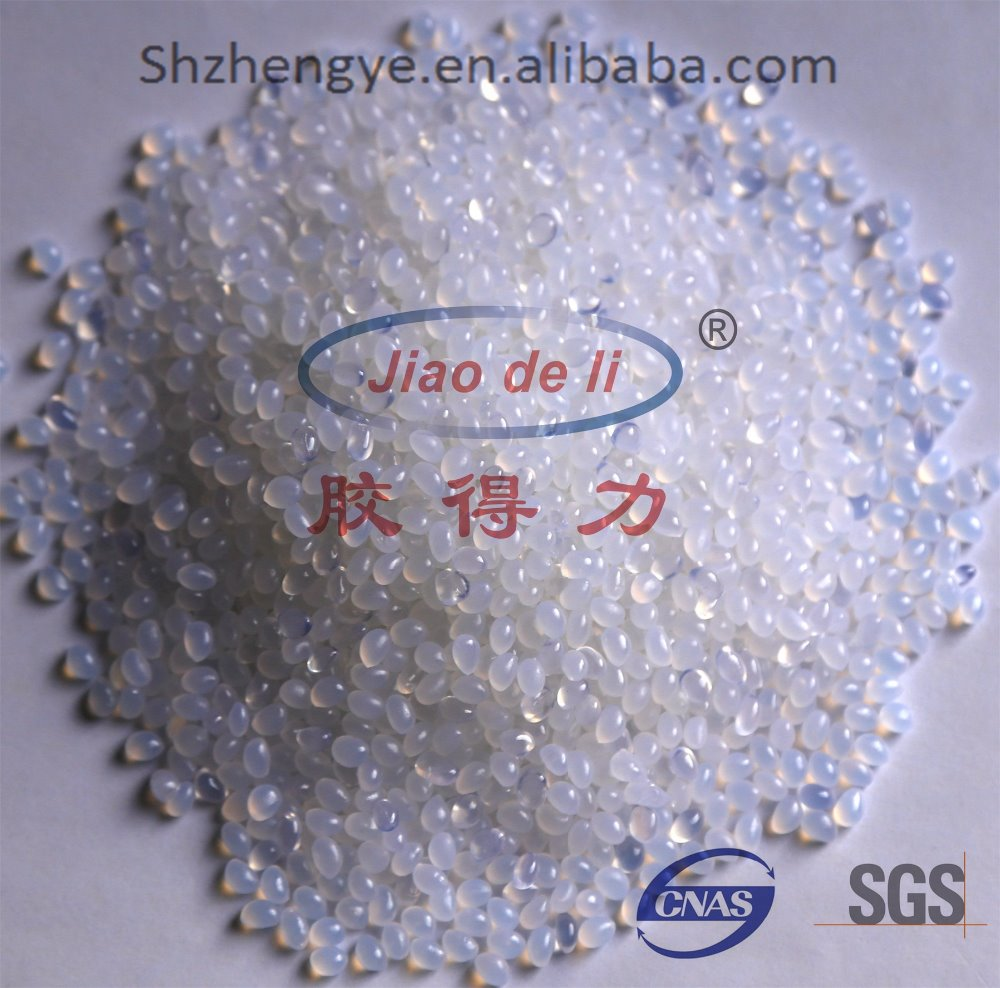 White Hot Melt Adhesive for pearl cotton/PE/PET glue