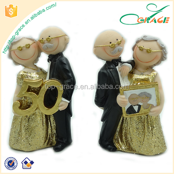 50 Years Wedding Anniversary Golden Wedding Souvenir Buy Golden