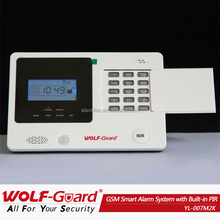 wireless home Security addressable fire alarm system with smoke alarm guardian security YK-007M2K