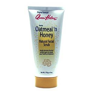 Queen Helene Oatmeal 'N Honey Natural Facial Scrub 177 ml Tube