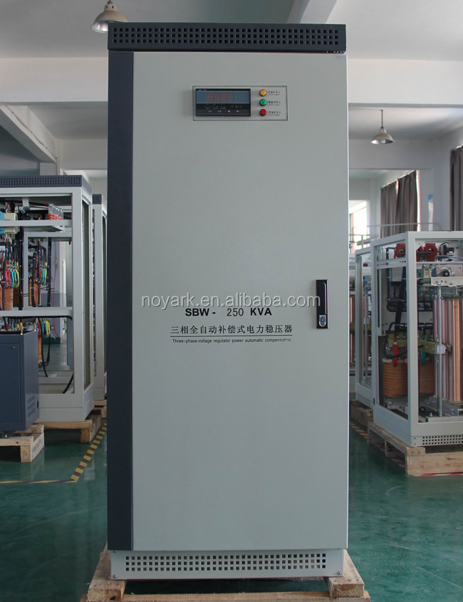 250kva industrial voltage stabilizer 3 phase,3 ph ac current voltage stabilizer 250kva