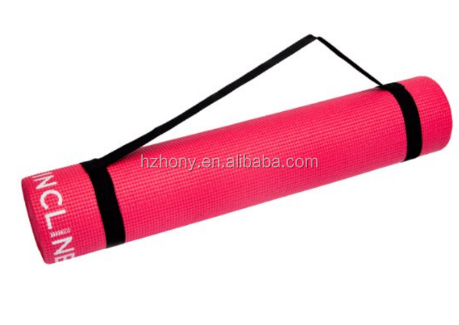 "Fit High Density Anti-Slip Exercise Yoga Mat Extra long at 72""and extra thick at a full 1/4"" thick to provide cushion for knee"