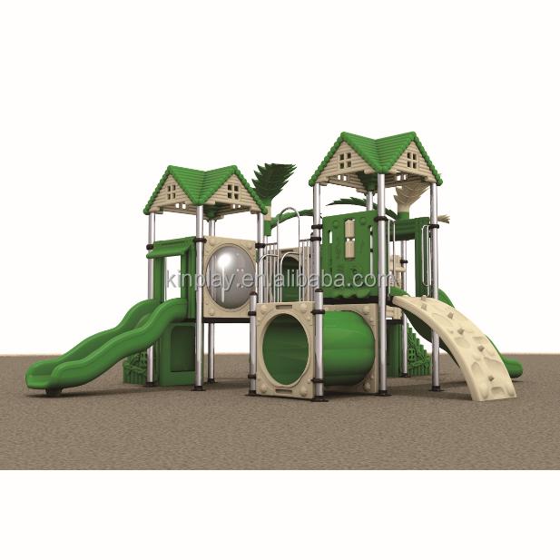 Kinplay Brand Kids Children Toys Plastic Slide And Swing Set 2018