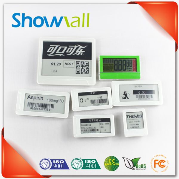 Hot sale supermarket wireless epaper electronic shelf label